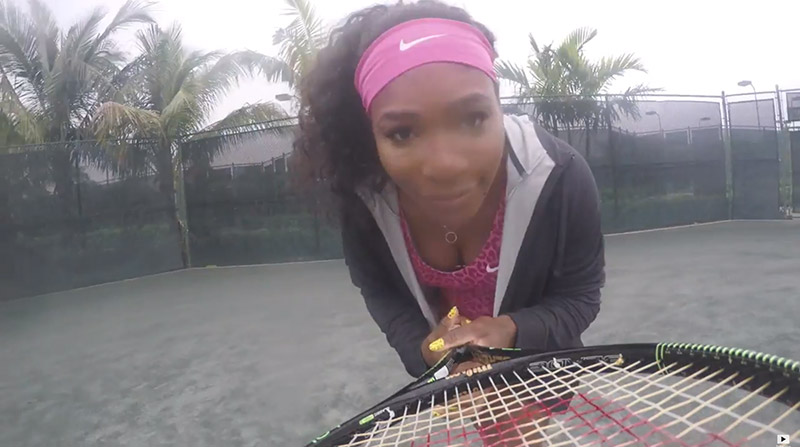 Serena Williams Does Her Own Version of Beyonce's '7/11' Video