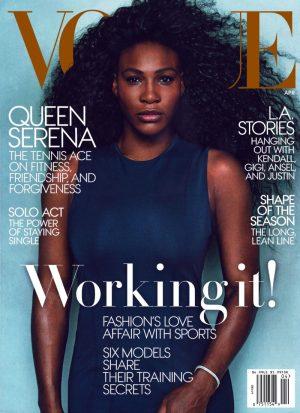 Serena Williams Lands Her Second Vogue Cover