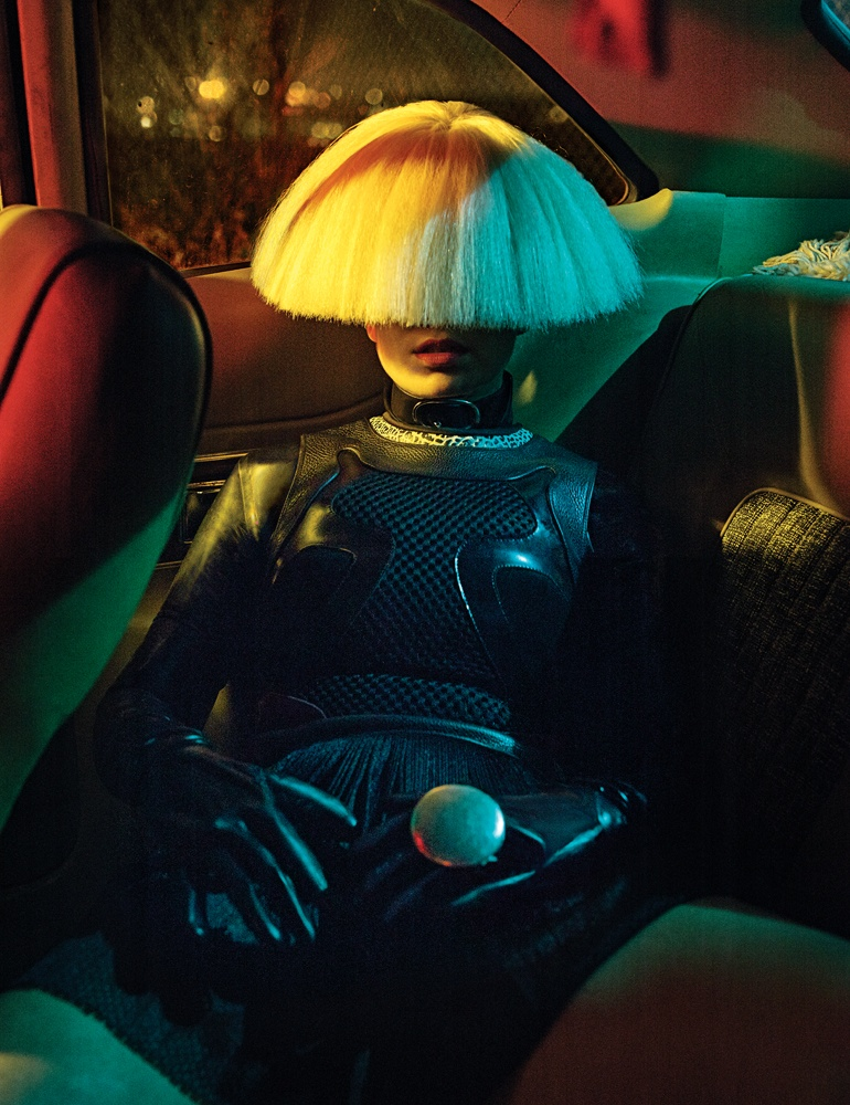 In the feature, Sia talks about not wanting to show her face to the public to keep some privacy.