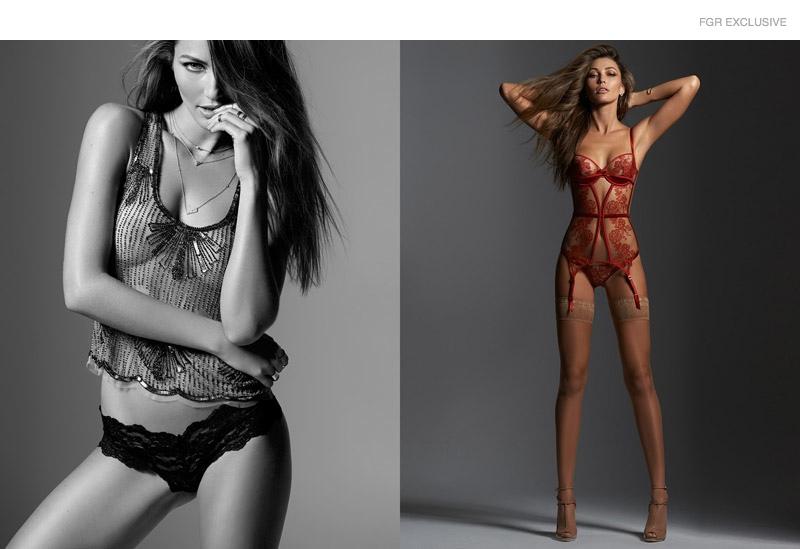 откровенные фото топ моделей