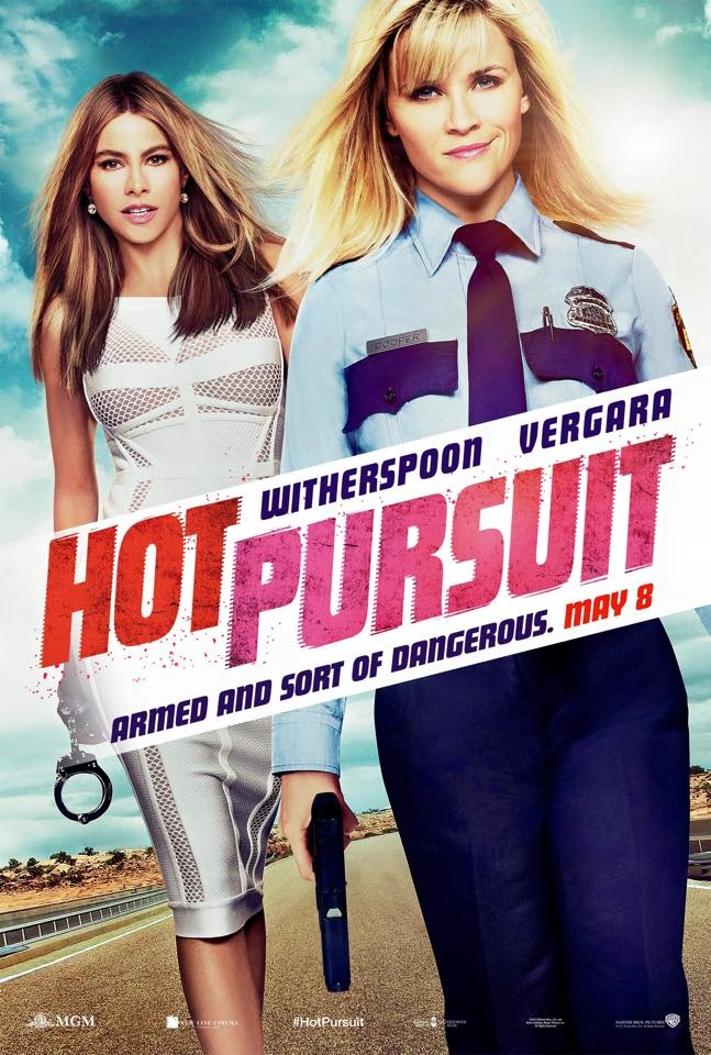 Sofia Vergara and Reese Witherspoon star on 'Hot Pursuit' movie poster, hitting theaters on May 8, 2015