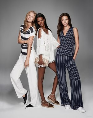 Christy, Liya & Toni Get Bohemian Glam for Lindex Spring '15 Ads
