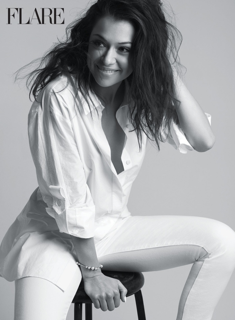 'Orphan Black' Star Tatiana Maslany Gets Glam for FLARE