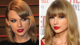 Taylor Swift is quite the fan of cherry red lipstick. Photo: Shutterstock.com