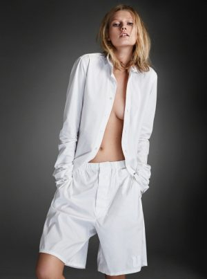 Toni Garrn is White Hot in TUSH's 10th Anniversary Issue