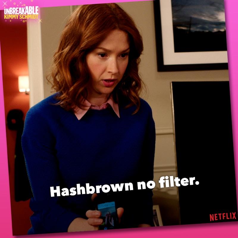 Hashbrown or hashtag? Photo: Netflix