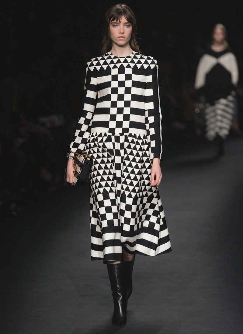 A look from Valentino's fall-winter 2015 collection