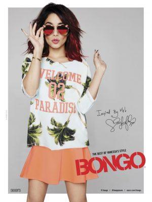 Vanessa Hudgens Stars in Bongo Spring 2015 Ads