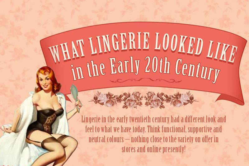 Infographic: Here's What Lingerie Looked Like in the Early 20th Century
