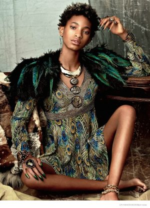 Willow Smith Poses for CR Fashion Book & Talks Natural Hair