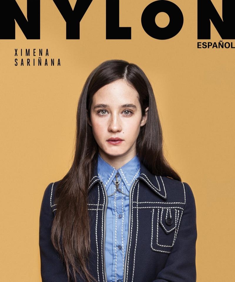 Ximena Sarinana on Nylon Español March 2015 Cover