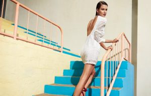 Ophelie Guillermand Brings the Heat in Zimmermann Swimsuit Campaign