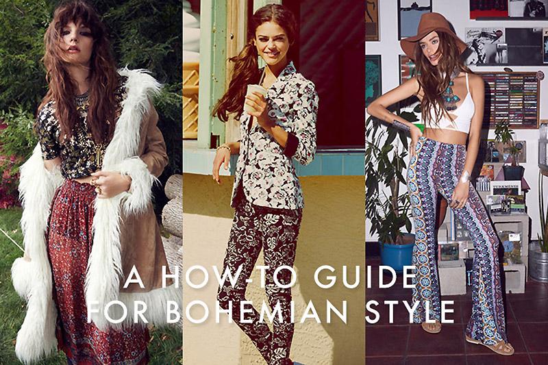 Bohemian Look: How To Wear Bohemian Style