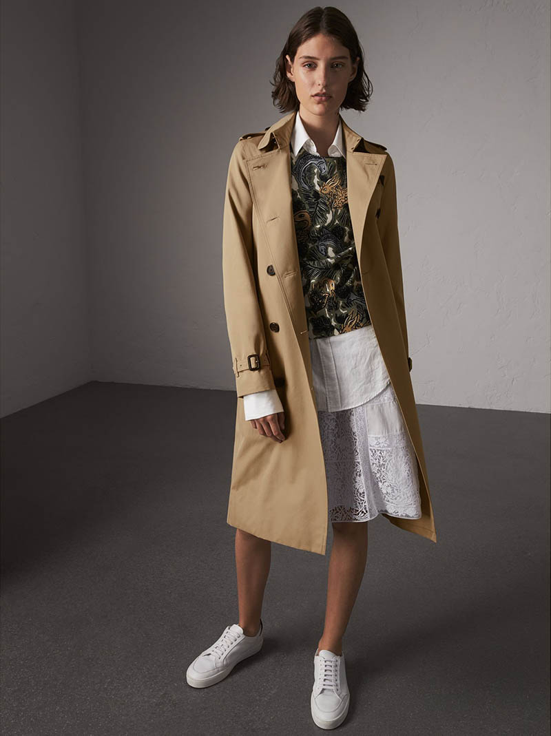 Burberry The Kensington Extra-Long Heritage Trench Coat $2,095