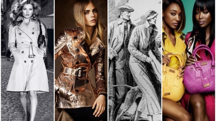 Burberry trench coat history