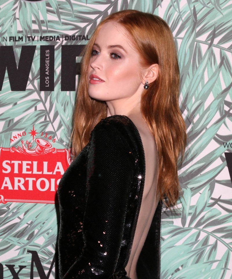 Ellie Bamber Red Hair