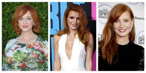 10 Top Actresses with Red Hair