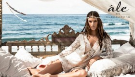 Alessandra Ambrosio stars in her Ale by Alessandra summer 2015 clothing collection.