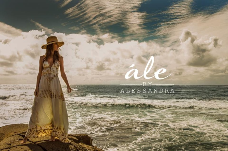 Alessandra designs bohemian looks inspired by her personal style