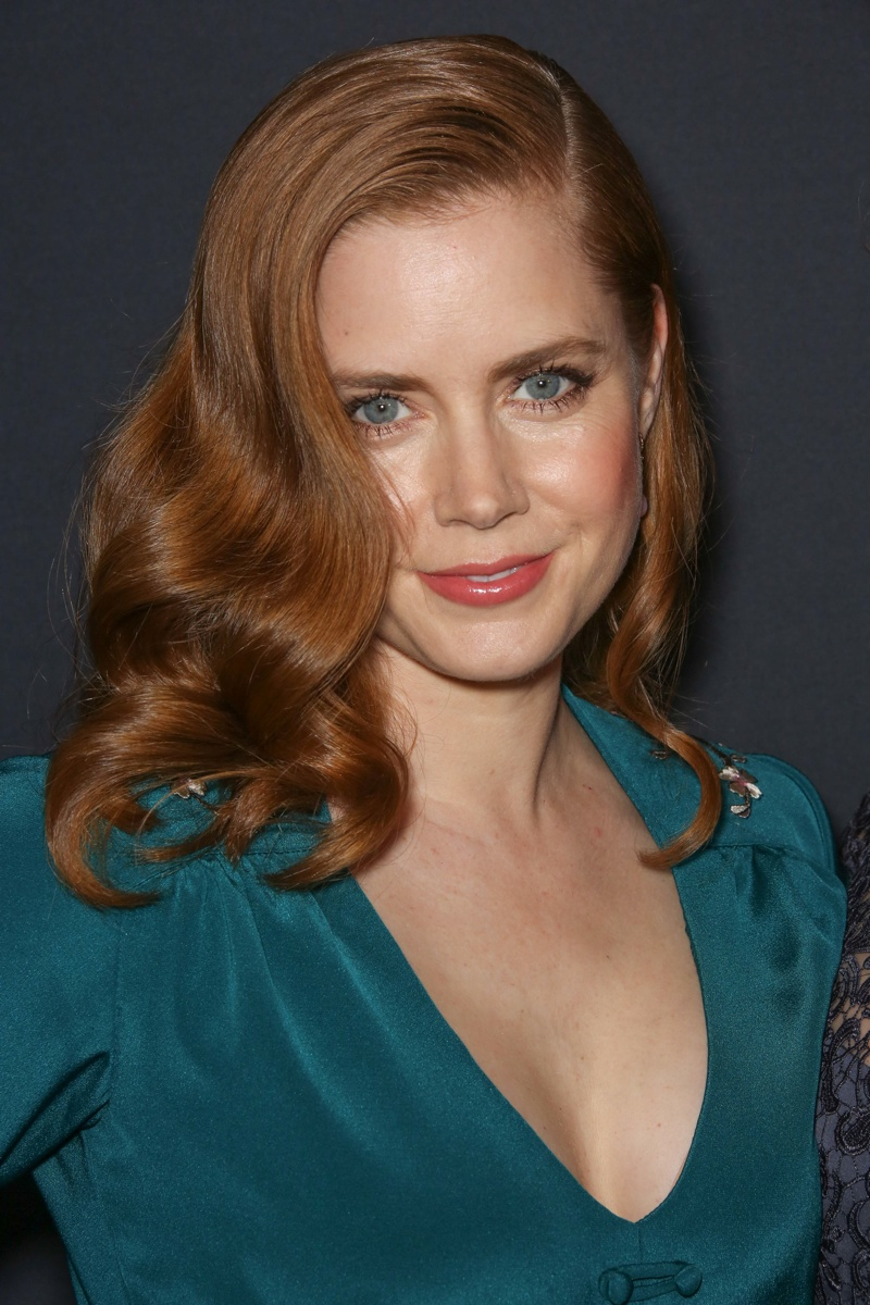 Amy Adams is an actress famous for her red hair. She stars as Lois Lane in the 'Man of Steel' films and is known for roles in 'American Hustle', 'The Fighter' and 'Enchanted'. Photo: Andrew Evans / PR Photo
