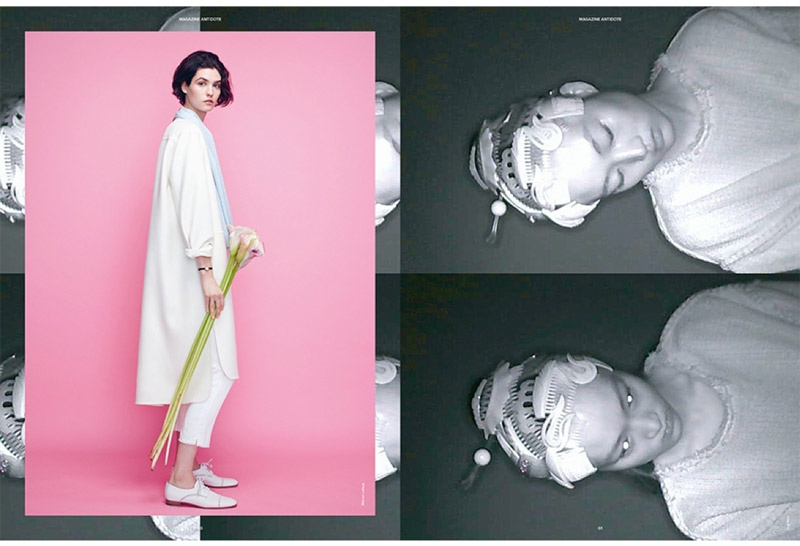 The images were captured by Daniel Sannwald. Models: Manon Leloup and Jing Weng