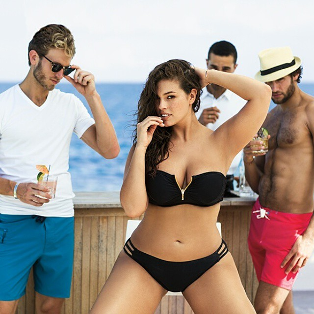 SwimsuitsforAll Hits Back at Protein World with Ashley Graham Ad