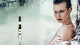 Behati Prinsloo fronts Raw Spirit Fragrances campaign.