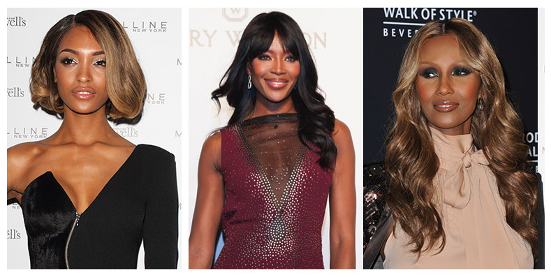 These black models have changed fashion with their work. Photo: PRPhotos.com / Harry Winston / Shutterstock.com
