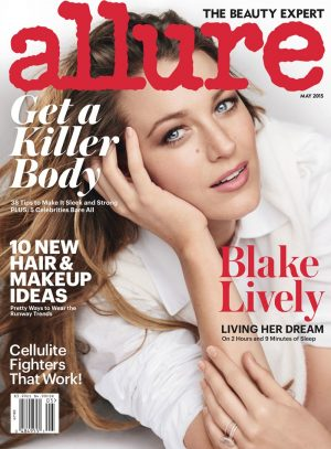 Blake Lively Covers Allure & Stars in Testino's 'Towel Series'