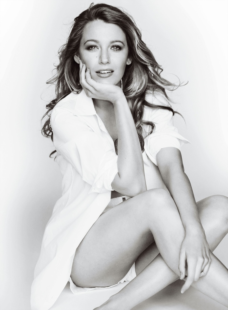 Blake talks about being a new mom and 'Gossip Girl'. Photo: Mario Testino/Allure