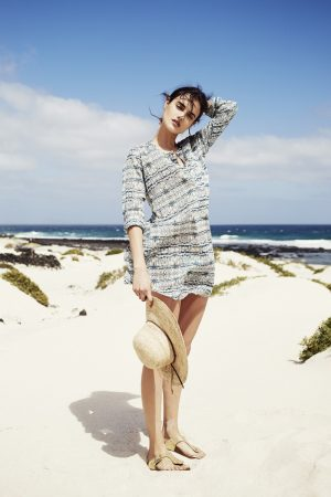 Blanca Padilla Models Swim Style for Zara