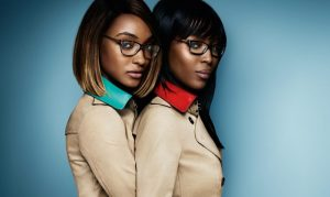 Jourdan Dunn & Naomi Campbell Are Geek Chic in Burberry Eyewear Ads