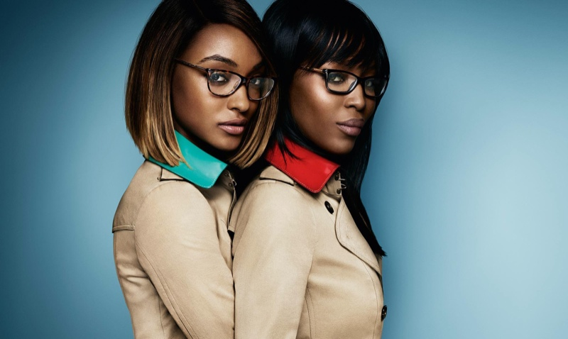 Jourdan Dunn & Naomi Campbell are back for Burberry's spring/summer 2015 eyewear campaign.