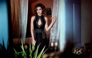 Camilla Belle Gets Glam for Bazaar Singapore Shoot