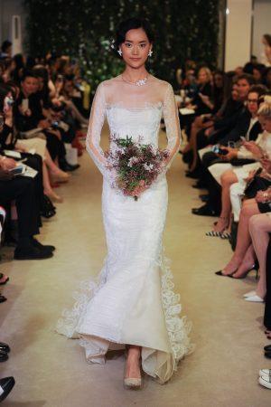 Carolina Herrera Embraces Florals for Spring Bridal Line