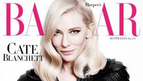 Cate Blanchett graces the May 2015 cover of Harper's Bazaar Australia