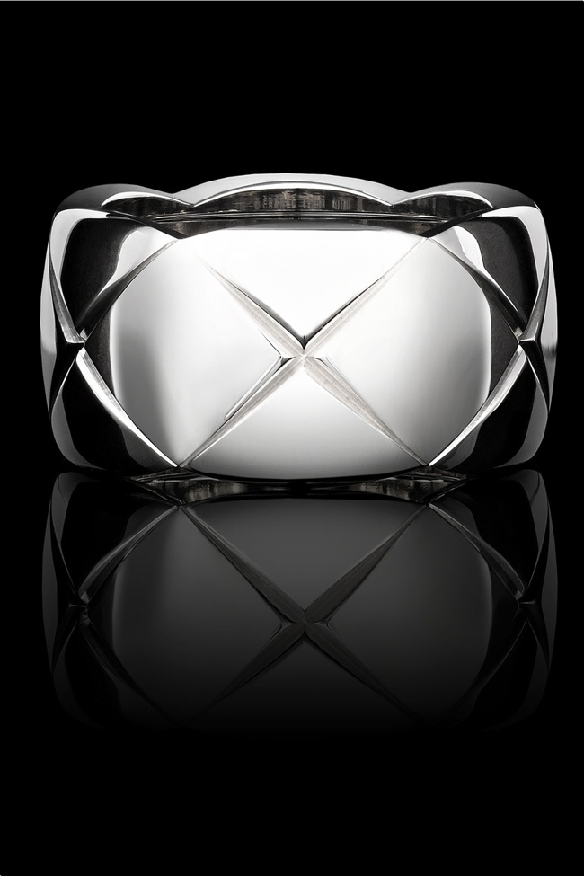 Chanel Fine Jewelry medium 18 karat white gold ring available for $3,100