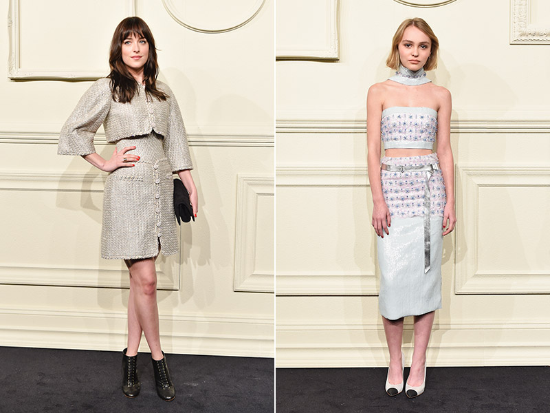 Stars (Including Johnny Depp's Daughter) Attend Chanel's Paris-Salzburg New York Show