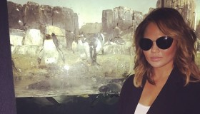 Chrissy Teigen says she will no longer edit her Instagram images. Photo via Instagram.