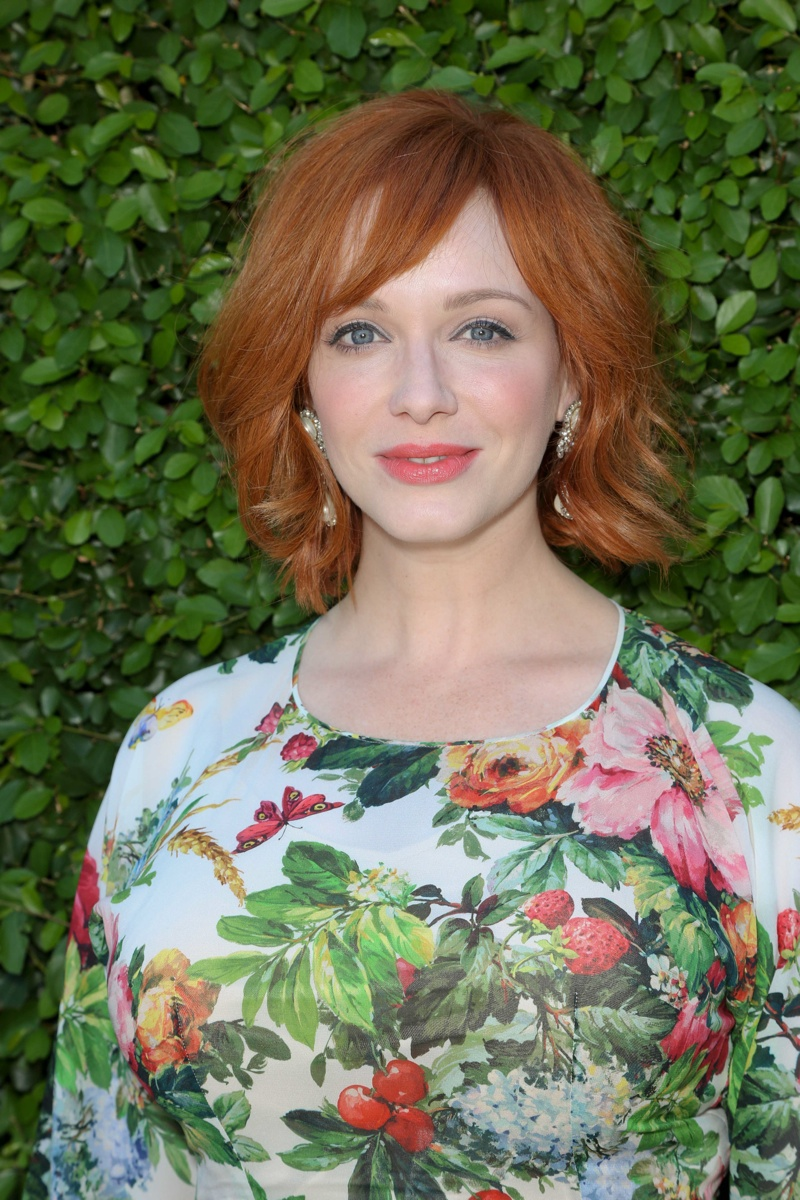 Christina Hendricks may not be a natural redhead, but many recognize her as one with her role as Joan on 'Mad Men'. Photo: Andrew Evans / PR Photos