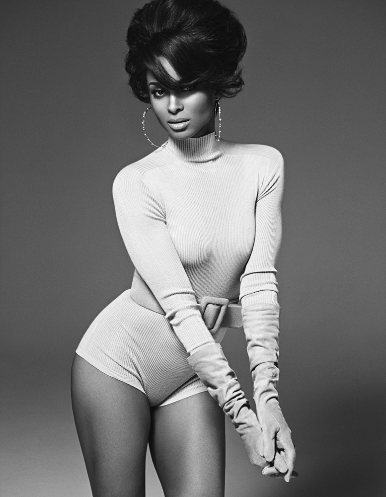 The R&B songstress rocks a form-fitting bodysuit