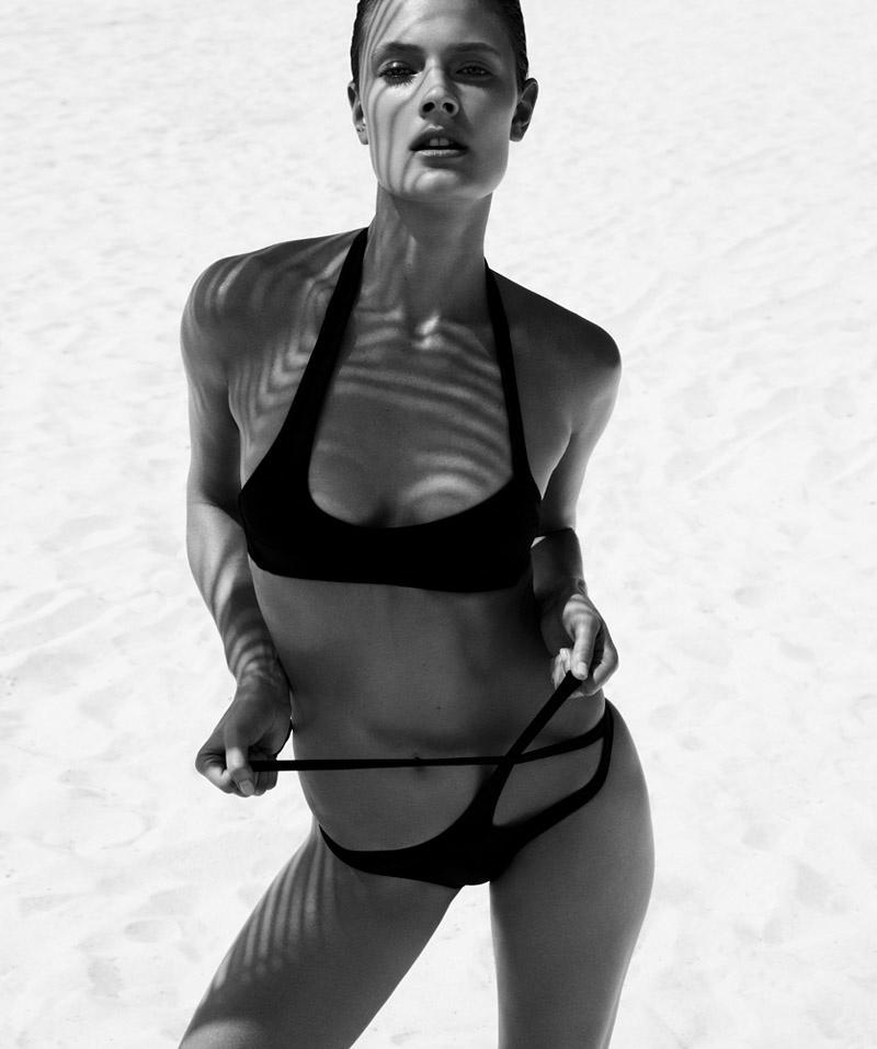 Constance Jablonski is a Beach Beauty in Bazaar Spain