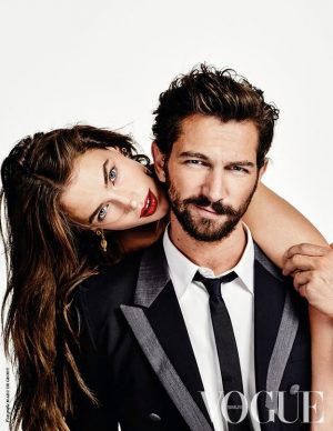 Crista Cober Joins 'Game of Thrones' Hunk for Vogue Netherlands