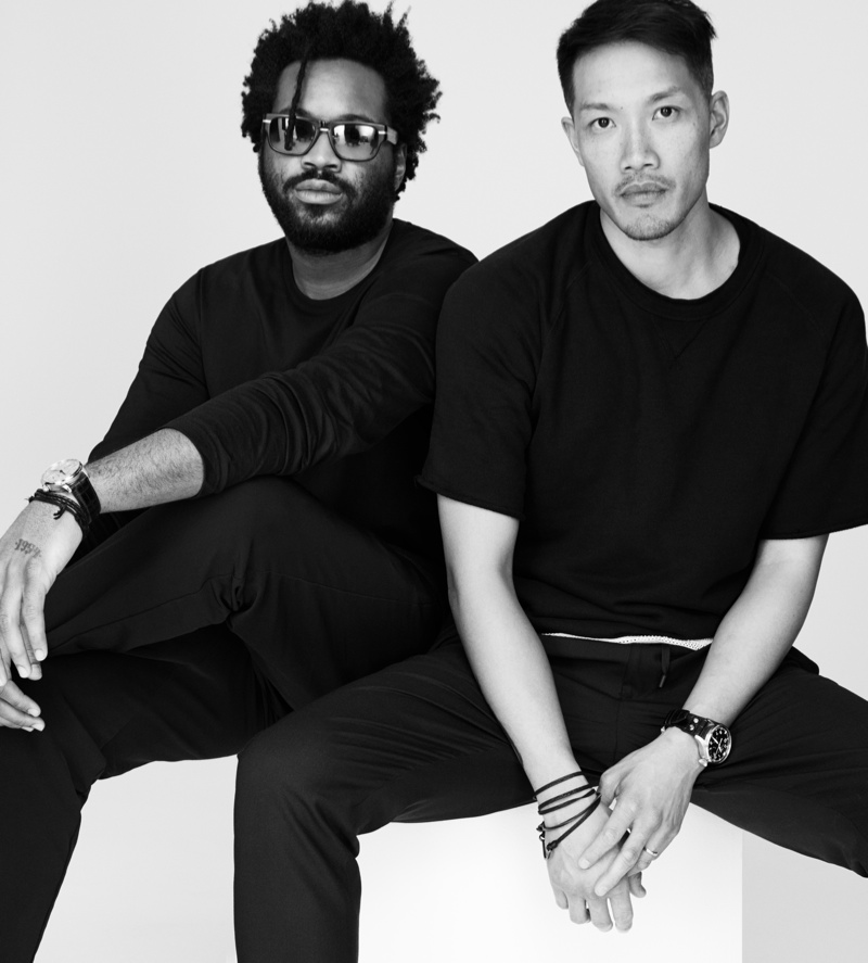 Dao-Yi Chow and Maxwell Osborne named new creative directors of DKNY. Photo via label.