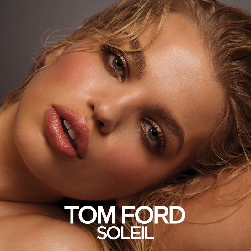 Daphne Groeneveld Pouts in New Tom Ford Beauty Ads