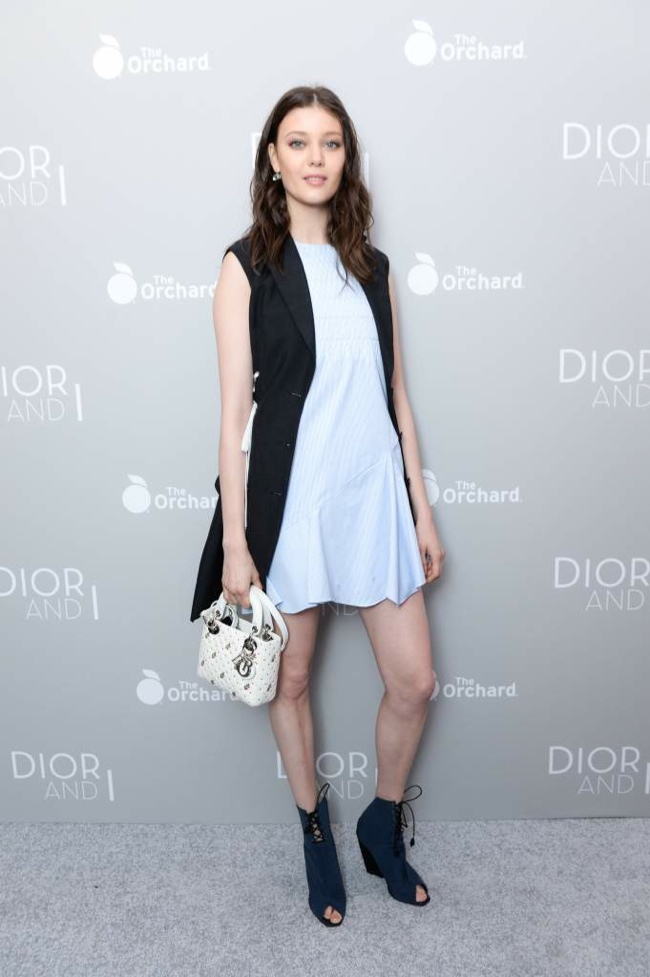 Diana Moldovan at the 'Dior and I' New York premiere in April