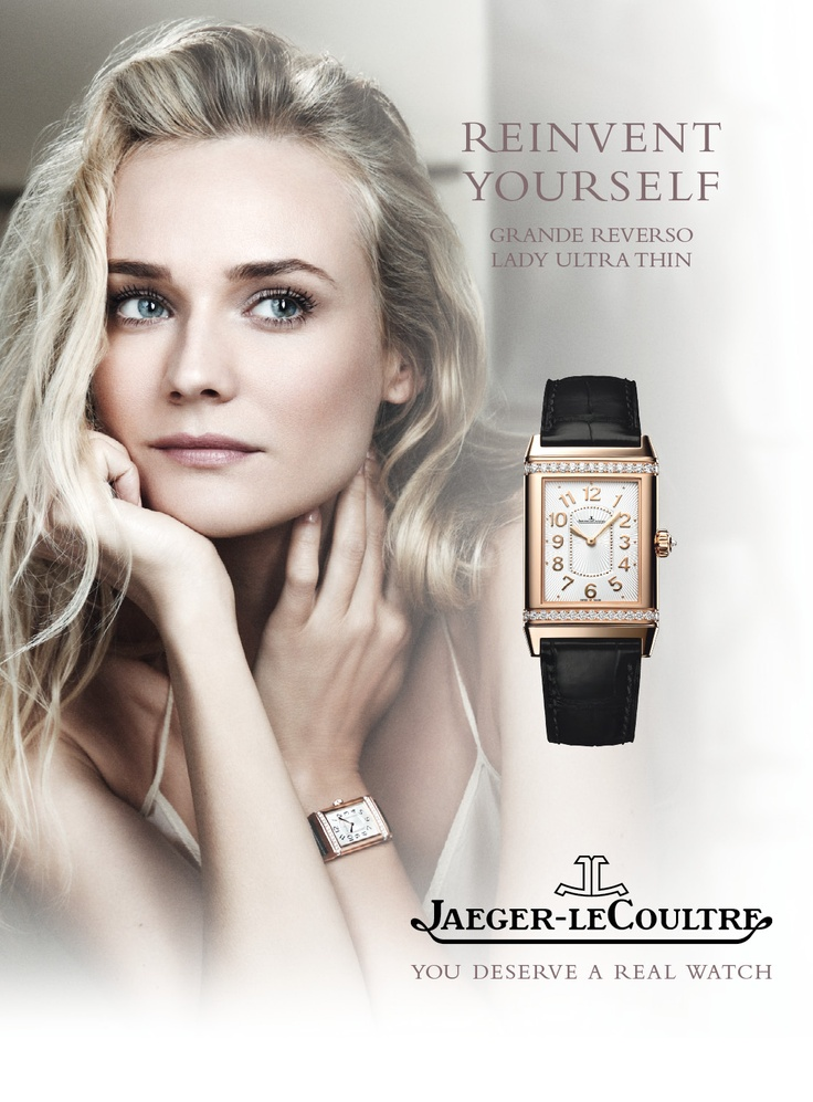 Diane Kruger Poses For Jaeger Lecoultre See Her
