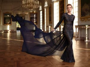 Diane Kruger Stuns in Versailles for Martell Cognac Shoot