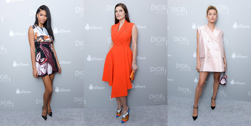 Star & Model Style at the 'Dior and I' New York Premiere