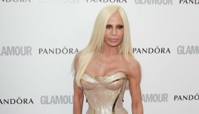 Donatella Versace is not happy with Giorgio Armani after his Gianni dressed sluts comment. Photo: Landmark / PRPhotos.com